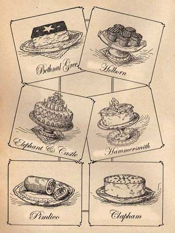 Lost Puddings of London