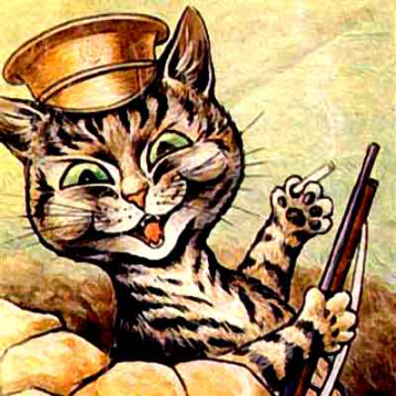 Tommy Catkins, by Louis Wain